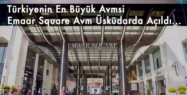 Emaar Square Mall, 28 Nisan'da Kapılarını Açıyor..