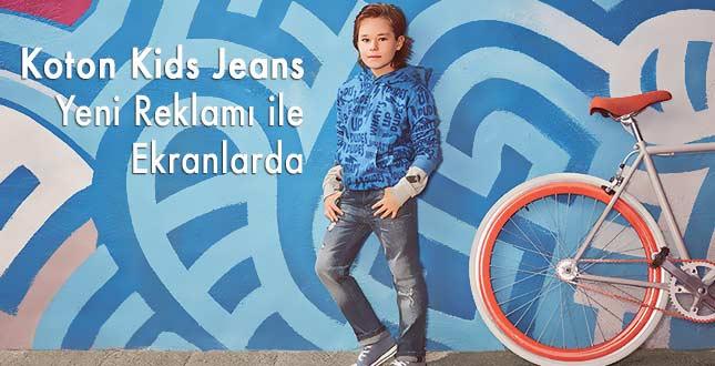 Koton Kids Jeans Reklamı Ekranlarda