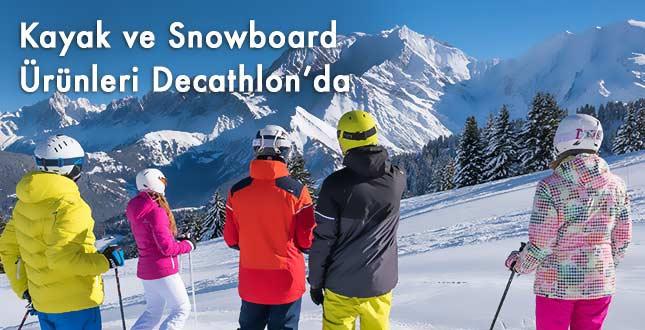 Kayak ve Snowboard ile İlgili Binlerce Ürün Decathlon'da