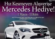 ACity Avm'den Hız Kesmeyen Alışverişe Mercedes Hediye!!