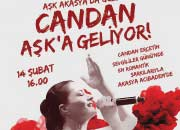 Akasya Acıbadem Avm Sevgililer Günü'nü Candan Erçetin'in Romantik Şarkılarıyla Kutlayacak!