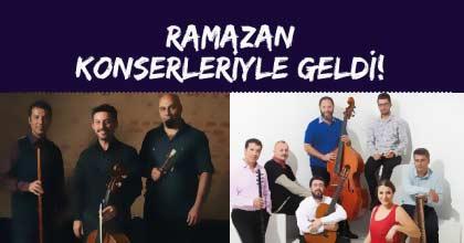 Akasya Acıbadem Avm'de Ramazan Konserlerinin İlk Konuğu Itrî & Bach