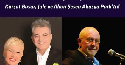 Akasya 'da Yazın Son Konseri Kürşat Başar Jale ve İlhan Şeşen ile Akasya Acıbadem Avm'de