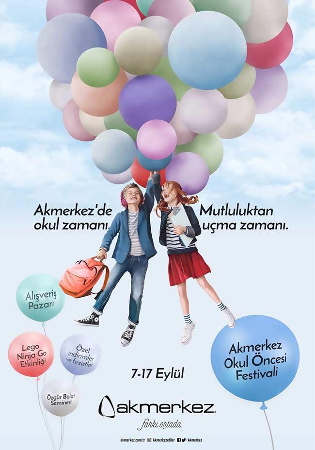 Akmerkez'de Okula Dönüş Festivali