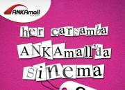 Ankamall'da Yaz Boyu İndirimli Sinema Keyfi