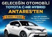 Geleceğin Otomobili TOYOTA C-HR HYBRID Antares'ten