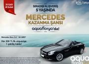 Aqua Florya Avm'den  MERCEDES-BENZ SLC 180 AMG Kazanma Şansı Sizi Bekliyor!