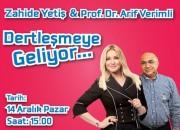 Beylikdüzü MİGROS Avm'de Zahide Yetiş ve Prof. Dr. Arif Verimli