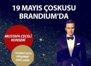 19 Mayıs Coşkusu Mustafa Ceceli İle Brandium Avm'de