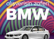 Zafer Plaza'da BMW 318İ Kazanma Şansı Sizi Bekliyor..