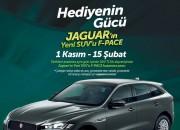 Cepa Avm'den Jaguar'ın yeni SUV'u F-PACE Kazanma Şansı
