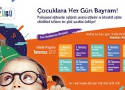 Yaz Tatiline Renk Katmak İsteyen Tüm Çocuklar, İstanbul Cevahir'de