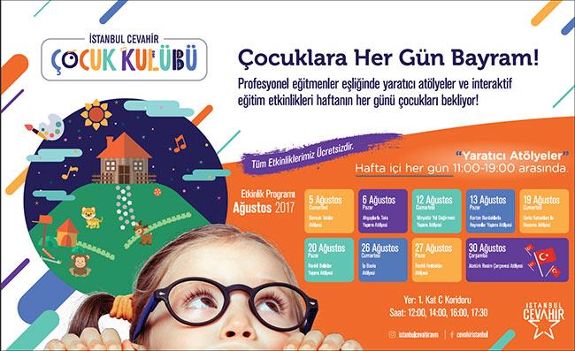 Miniklerin yaz Tatili Keyfi İstanbul Cevahir Avm'de Çıkıyor!