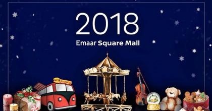 Yeni Yıl Emaar Square Mall'da Daha Güzel..