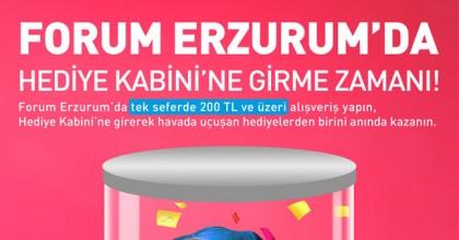 Forum Erzurum'da Hediye Kabini Sizleri Bekliyor!