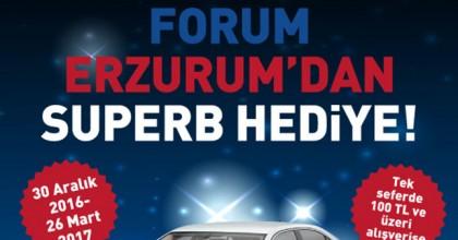 Forum Erzurum'dan Superb Hediye