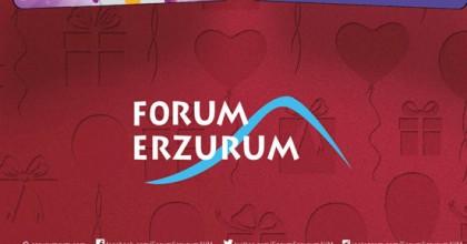 Forum Erzurum Avm'den Harcadıkça Kazandıran Kampanya