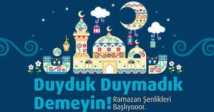 Forum Erzurum'da Ramazan Şenlikleri Başlıyor!