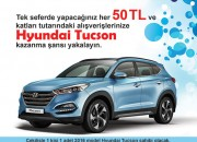 Historia'dan Hyundai Tuscon kazanma Fırsatı