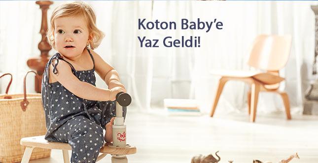 Koton Baby'e Yaz Geldi!