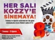 Kozzy Avm'den Sinema Severlerin Yüzünü Güldürecek Kampanya