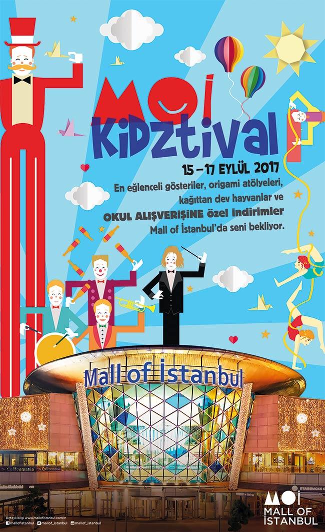 KIDZTIVAL Çocuk festivali Mall of İstanbul'da Başlıyor!