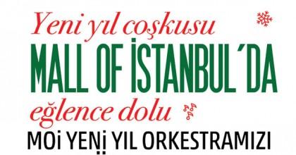Mall of İstanbul'da Yeni Yıl Coşkusu Başladı!