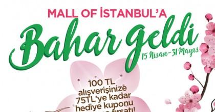 Mall Of İstanbul'a Bahar Geldi!