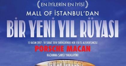 Mall of Istanbul'dan Dev Hediye Kampanyası 150TL'ye Porshe