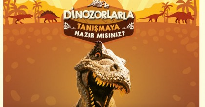 ÖzdilekPark İstanbul'u Dinazorlar Bastı!