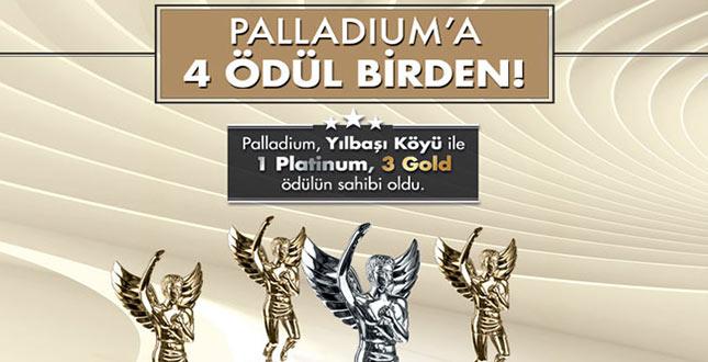 Palladium Ataşehir Avm'ye 4 Ödül Birden