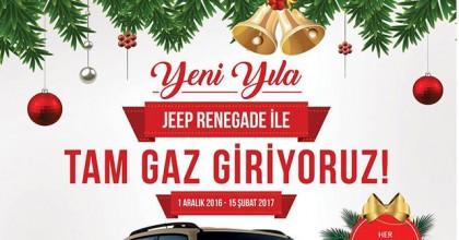Yeni Yıla Jeep Renegade ile Tam Gaz Giriyoruz