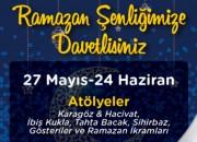 Ramazan Gelenekleri Beylikdüzü Migros AVM'de Hayat Bulacak