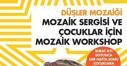 Düşler Mozaiği Sergisi ve Mozaik Atölyesi Starcity Outlet'te