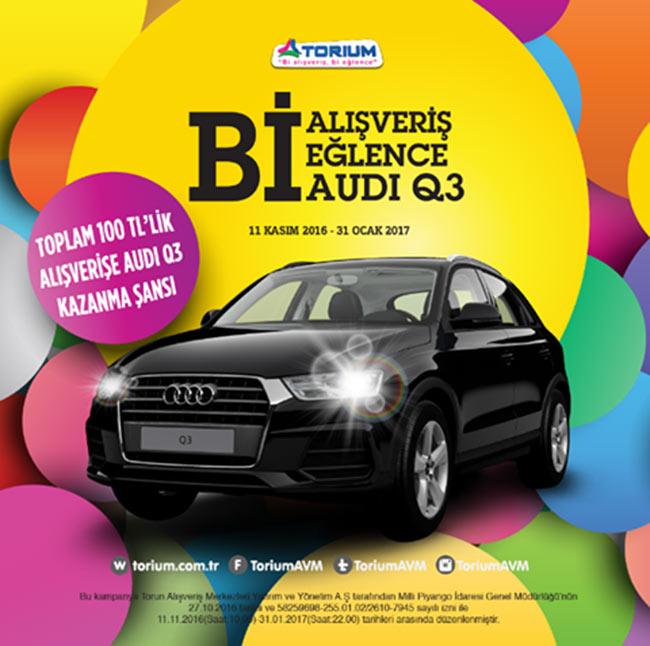Torium'da Audi Q3 Sizi Bekiyor!