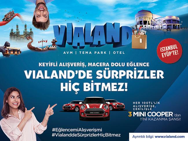 Vialand Avm'den Mini Cooper Kazanma Şansı