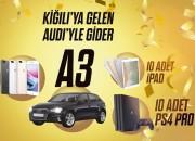 Yılbaşı hediyeni Kiğılı'dan Seç,  Audi Kazanma Şansını Yakala!