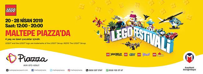 23 Nisan Çocuk Bayramı'na Özel Lego Festivali! Maltepe Piazza'da
