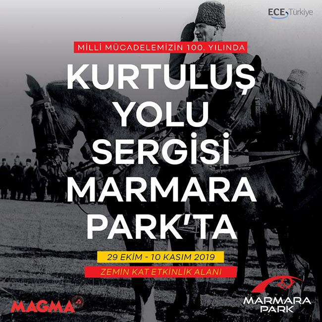 Marmara Park Büyük Mücadeleyi  Kurtuluş Yolu Sergisi ile Anlatacak