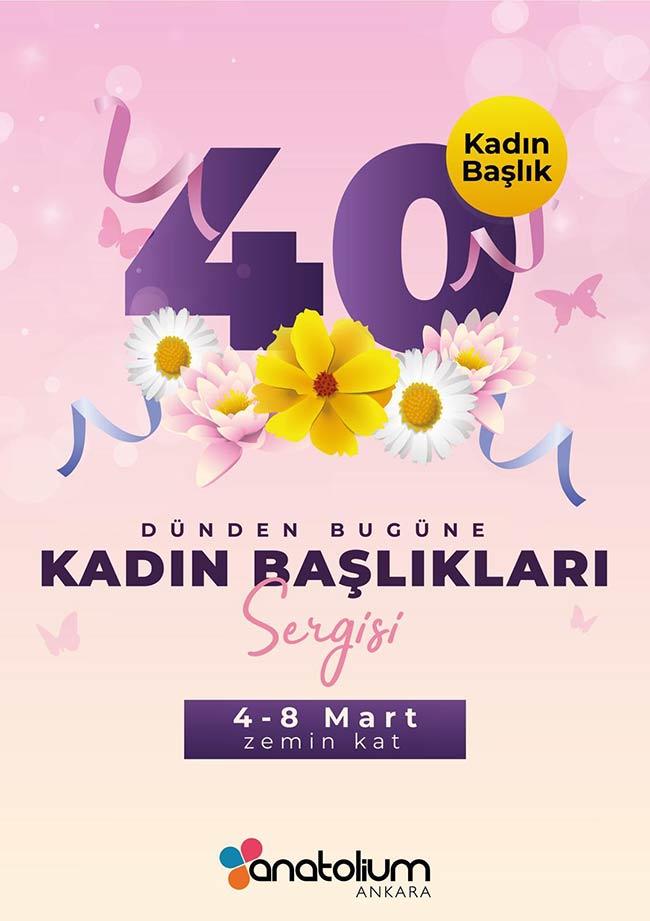"""8 Mart Dünya Kadınlar gününe özel """"40 Kadın 40 Başlık"""" fotoğraf sergisi"""