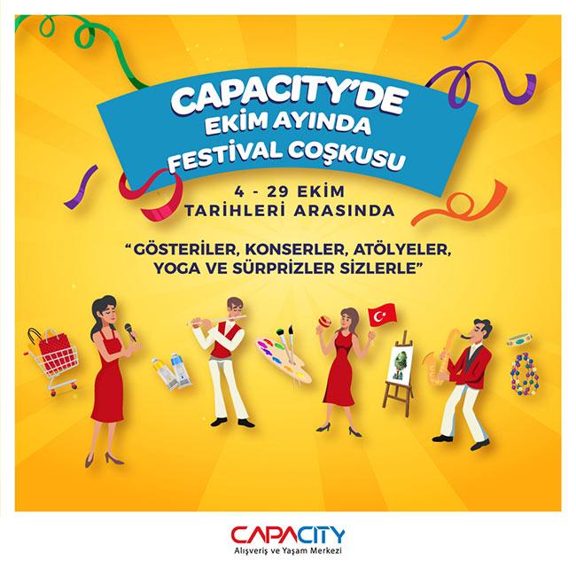 Festival Tadında Eğlence Capacity'de Sizlerle!