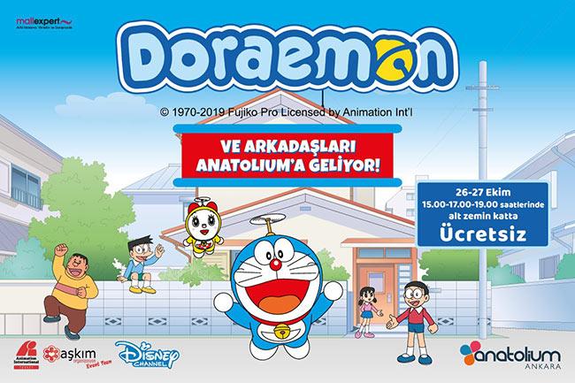 Doraemon ve Arkadaşları Anatolium'a geliyor