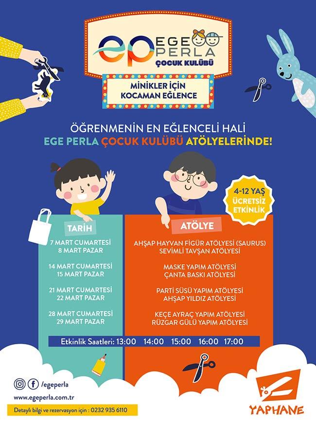 Ege Perla Çocuk Kulübü Etkinlikleri (ERTELENDİ)