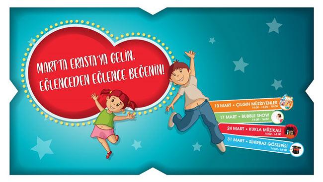Erasta Edirne, Bütün Çocukları Sınırsız Eğlenceye Davet Ediyor!