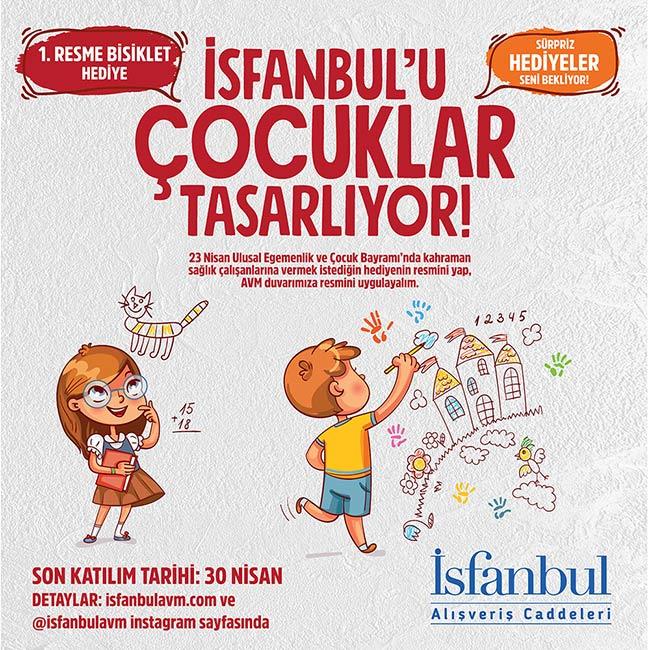İsfanbul AVM'den çocuklara ve sağlık kahramanlarına özel anlamlı yarışma