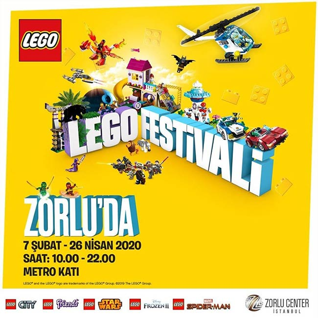 LEGO FESTİVALİ (ERTELENDİ)