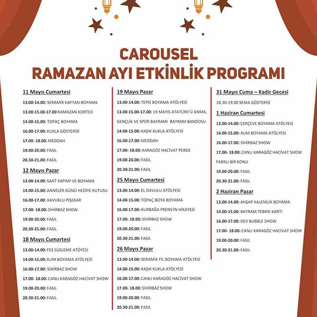 Ramazan Coşkusu Carousel Avm'de