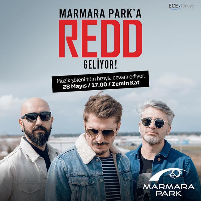 Redd En Yeni Şarkıları ile  Marmara Park Avmde