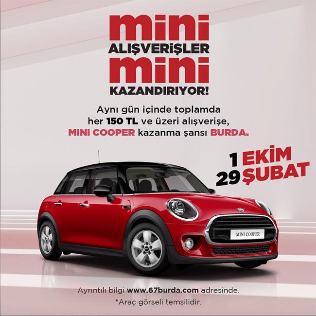 Mini Cooper kazanma şansı 67 Burda'da!