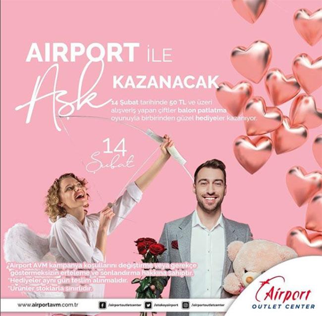 """Airport ile """"Aşk Kazanacak""""!"""